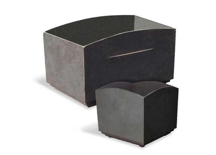 Vinstra Square Cast Iron Planter