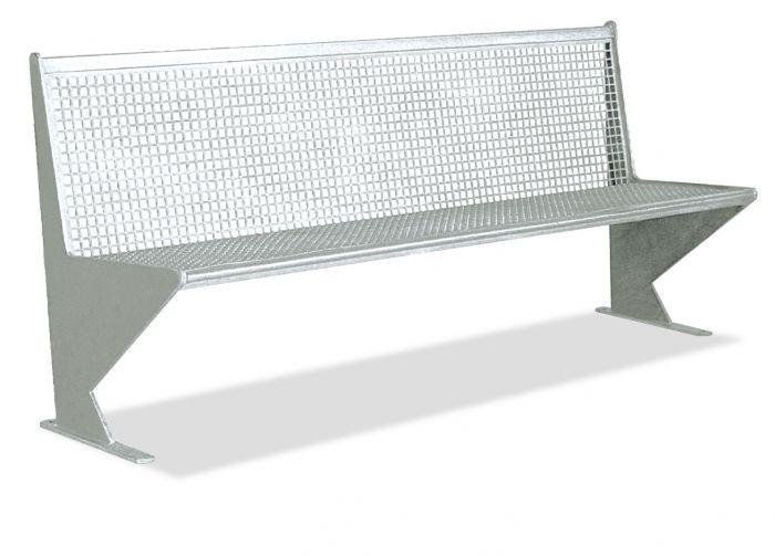 Altus Galvanised Steel Seat