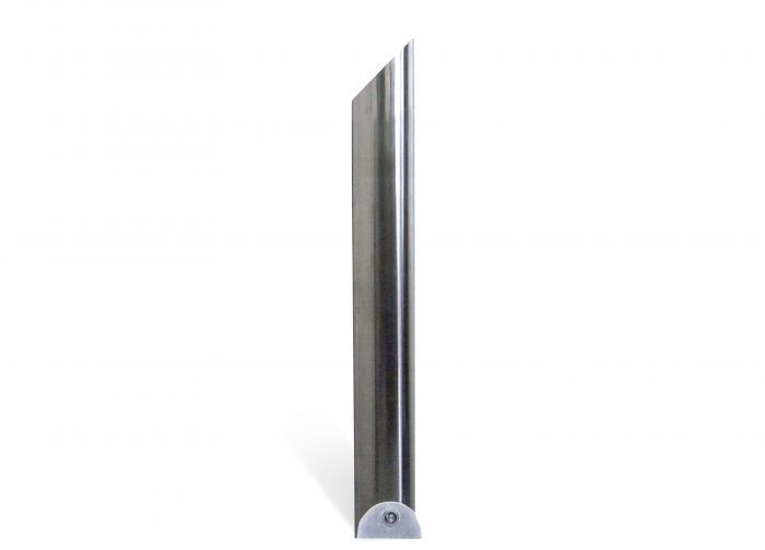 Avenue Polished 204mm Stainless Steel Bollard