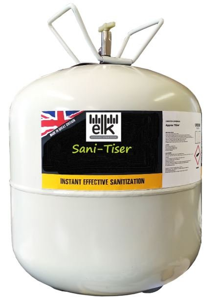 SANI-TISER CANISTER