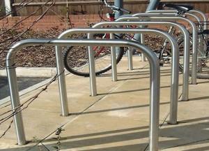 Ervine Galvanised Base Fixed Steel Cycle Storage