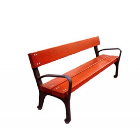 Ornate Tropical Wood Seat