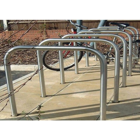 Ervine Galvanised Base Fixed Steel Cycle Storage
