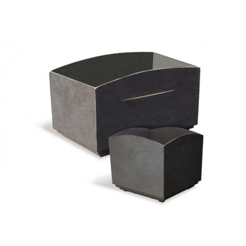 Vinstra Square Cast Iron Planter