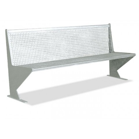 Altus Galvanised Steel Seat
