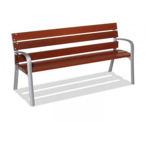 Ottawa Silver FSC Tropical Wood Seat