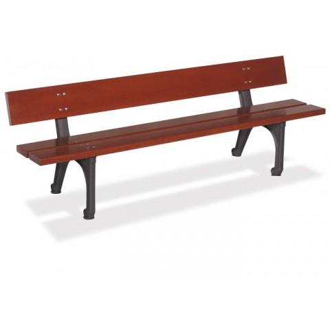 Kinsale Tropical Wood Seat