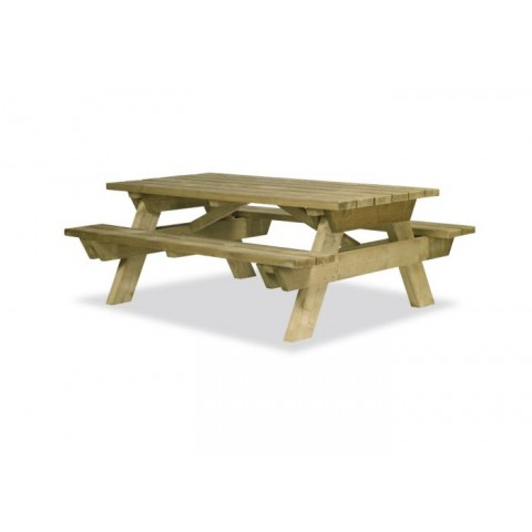 Lucerne Extended Pine Table