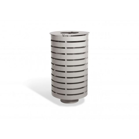 Emerald Galvanised Steel Bin