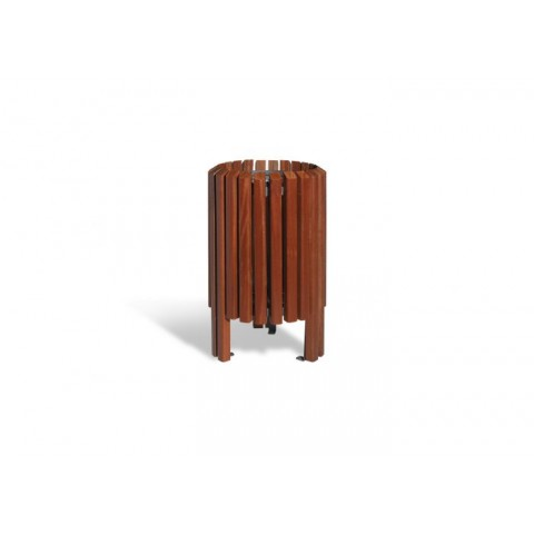 Butler Tropical Wood Bin
