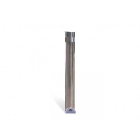 Province Polished 204mm Stainless Steel Bollard
