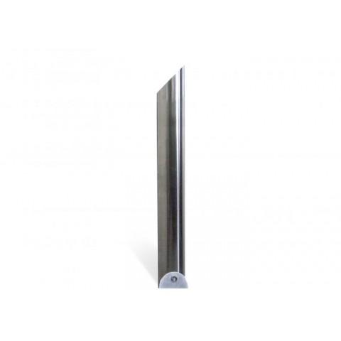 Avenue Satin 204mm Stainless Steel Bollard