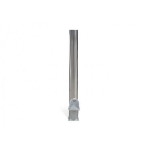 City Polished 204mm Stainless Steel Bollard