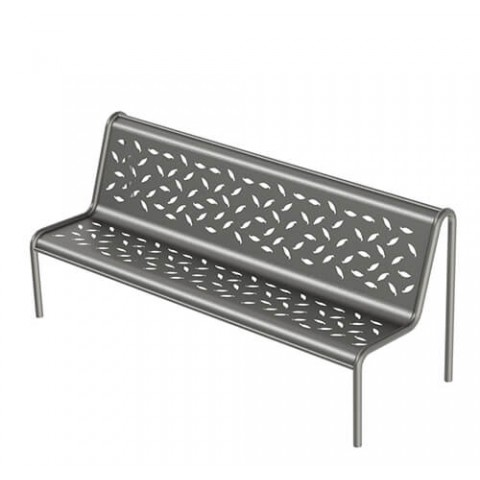 Claremont Galvanised Steel Seat