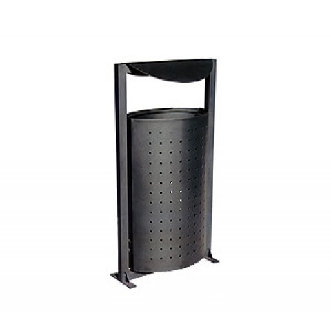Lowana Galvanised Steel Bin