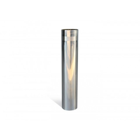 Street Polished 204mm Stainless Steel Bollard