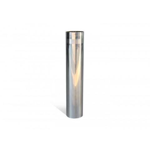 Street Satin 204mm Stainless Steel Bollard