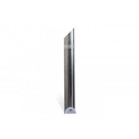 Zone Polished 204mm Stainless Steel Bollard