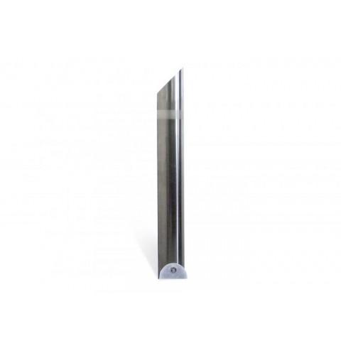 Zone Satin 104mm Stainless Steel Bollard